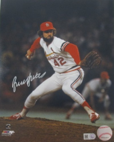 Photo of Bruce Sutter Autographed 16x20