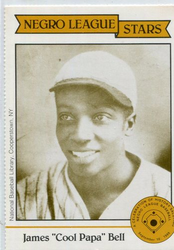 Photo of 1988 Negro League Duquesne #14 James (Cool Papa) Bell Hall of Fame Class of 1974