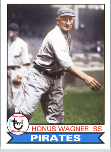Photo of 2016 Topps Archives #153 Honus Wagner -- Hall of Fame Class of 1936