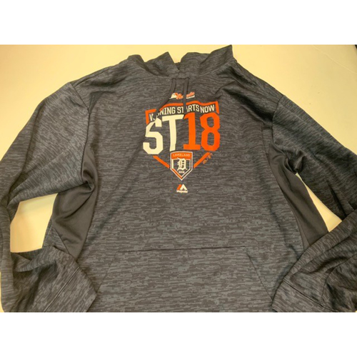 Photo of Team-Issued Spring Training Sweatshirt: #68