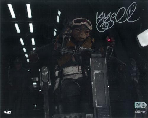 PREORDER Katy Kartwheel As Rio Durant 8x10 Autographed in Silver Ink