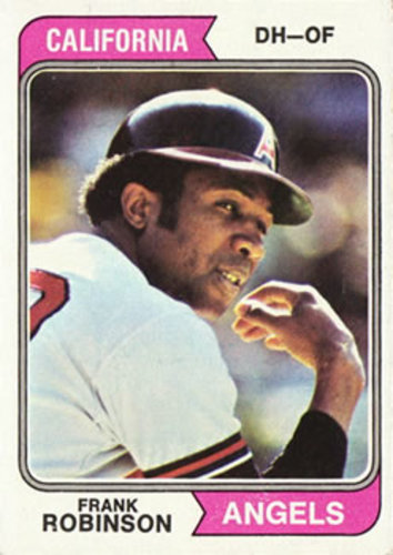 Photo of 1974 Topps #55 Frank Robinson