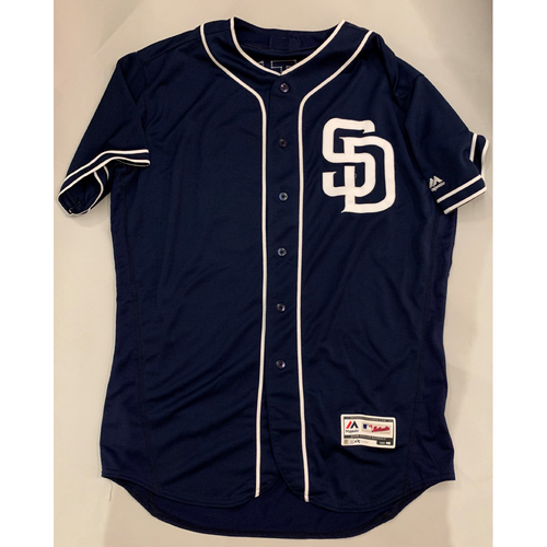 Photo of Kirby Yates 2019 Road Blue Team Issued Jersey - Size - 46.