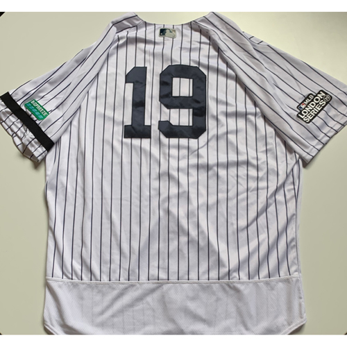 2019 London Series - Game-Used Jersey - Masahiro Tanaka, New York Yankees vs Boston Red Sox - 6/29/19