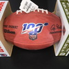 NFL - Raiders Josh Jacobs  Signed Authentic Football with NFL 100 Logo