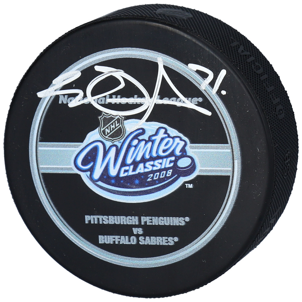 Evgeni Malkin Pittsburgh Penguins Autographed 2008 Winter Classic Official Game Puck