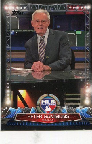 Photo of 2017 Topps MLB Network #MLBN31 Peter Gammons