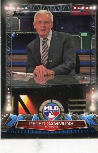 Photo of 2017 Topps MLB Network #MLBN31 Peter Gammons