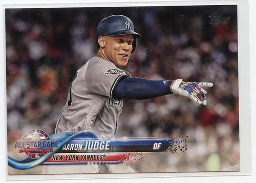 Photo of 2018 Topps Update #US172 Aaron Judge AS