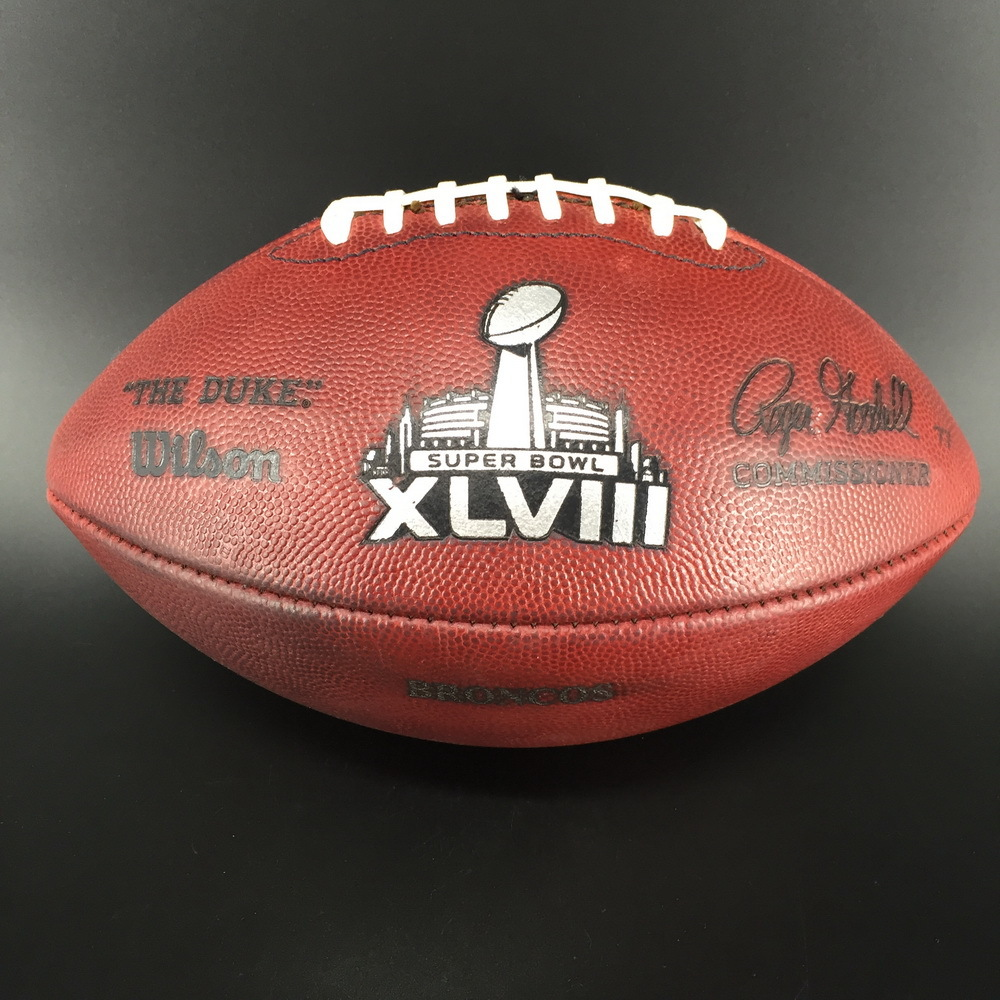 NFL - Super Bowl 48 Game Used Football Broncos Offense
