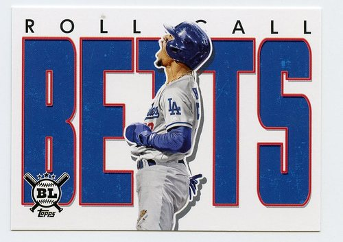 Photo of 2020 Topps Big League Roll Call #RC20 Mookie Betts