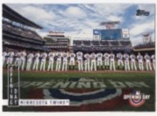 Photo of 2020 Topps Opening Day Opening Day #OD6 Minnesota Twins