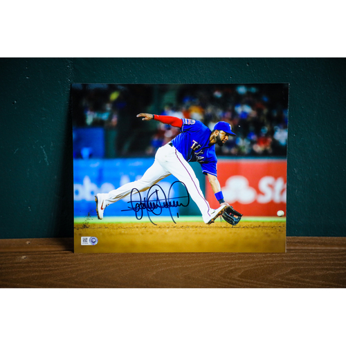 Photo of Elvis Andrus Autographed 8x10 Photo
