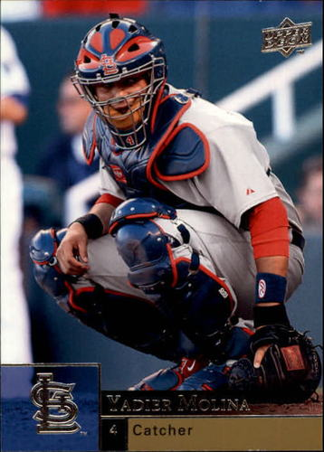 Photo of 2009 Upper Deck #882 Yadier Molina
