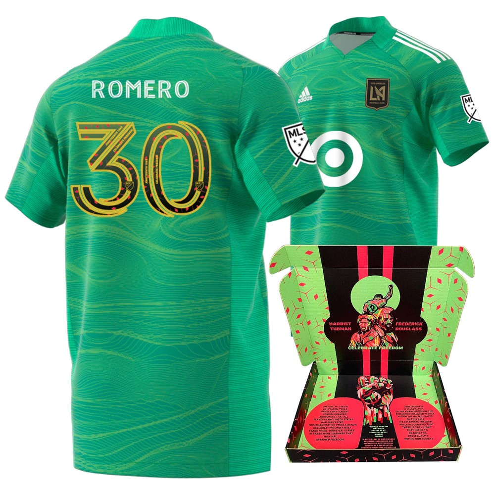 Tomas Romero Los Angeles FC Player-Issued & Signed