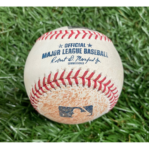 Photo of Game Used Baseball: Ty France RBI double off Michael Wacha - J.P. Crawford Scores - Top 4 - August 2, 2021 v SEA
