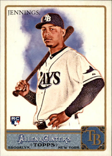 Photo of 2011 Topps Allen and Ginter #276 Desmond Jennings RC