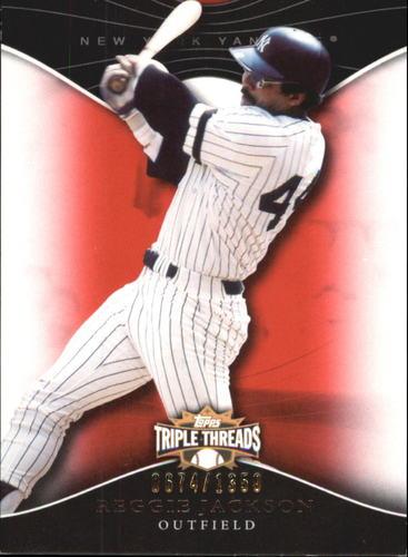 Photo of 2009 Topps Triple Threads #98 Reggie Jackson