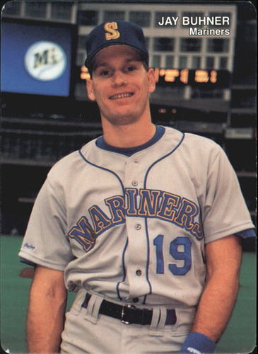 Photo of 1990 Mariners Mother's #7 Jay Buhner