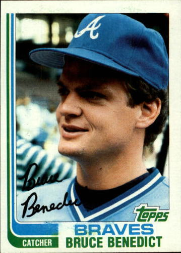 Photo of 1982 Topps #424 Bruce Benedict