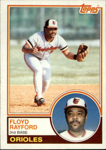 Photo of 1983 Topps #192 Floyd Rayford
