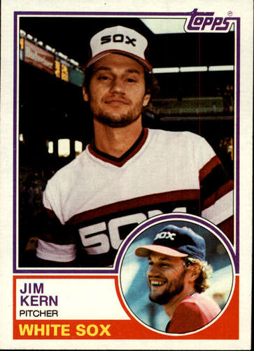 Photo of 1983 Topps #772 Jim Kern