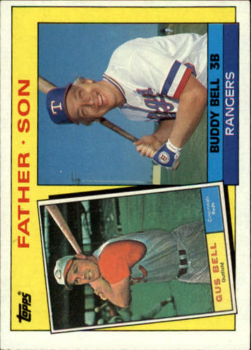 Photo of 1985 Topps #131 Buddy/Gus Bell FS