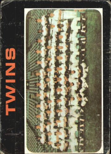 Photo of 1971 Topps #522 Minnesota Twins TC