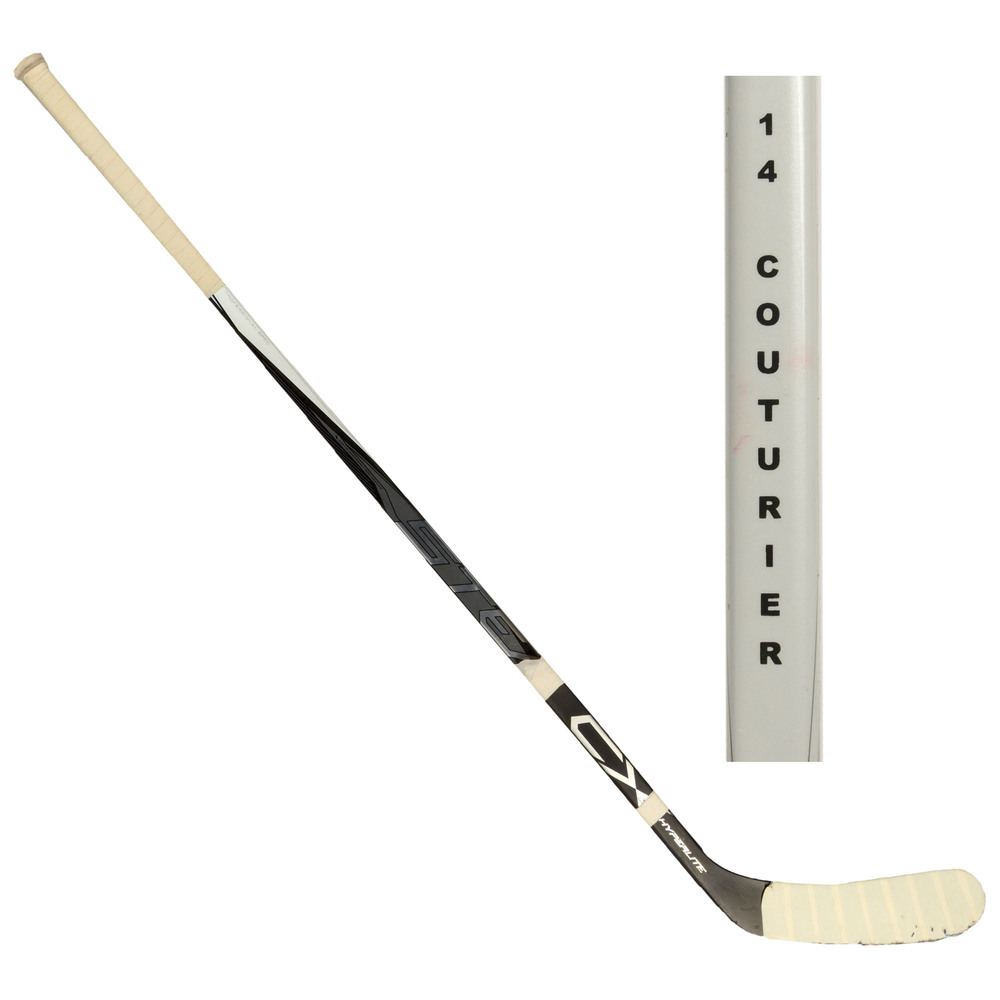 Sean Couturier Philadelphia Flyers Team North America 2016 World Cup of Hockey Tournament-Used Easton Stealth CX Broken Hockey Stick