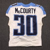 BCA - TITANS JASON MCCOURTY GAME USED TITANS JERSEY - OCTOBER 11, 2015