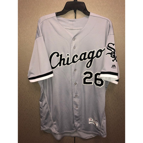 Photo of Position Players: Avisail Garcia 2017 Game-Used Grey Road Jersey