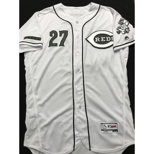 Photo of Phillip Ervin - Game-Used - Military Appreciation Jersey