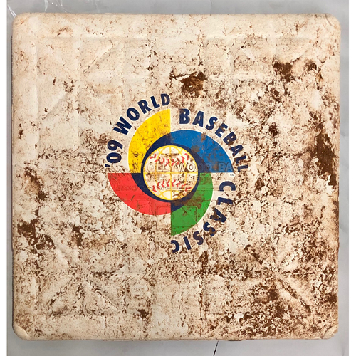 Photo of 2009 World Baseball Classic Game Used Base- 3rd Base (Mexico vs. Cuba)