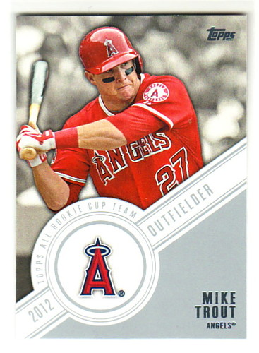 Photo of 2014 Topps All Rookie Cup #RCT7 Mike Trout