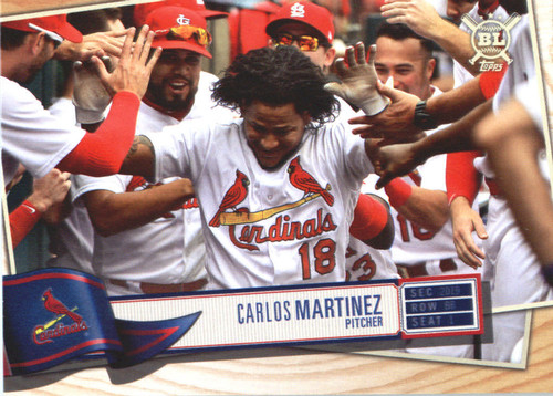 Photo of 2019 Topps Big League #212 Carlos Martinez