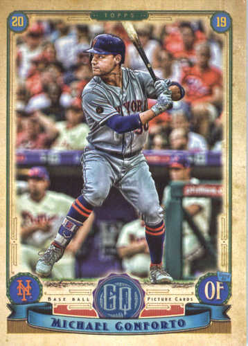 Photo of 2019 Topps Gypsy Queen #297 Michael Conforto