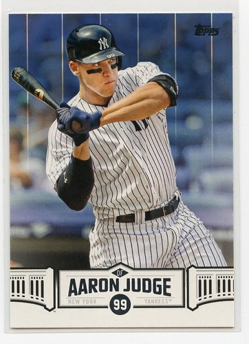 Photo of 2018 Topps Aaron Judge Highlights Blue #AJ14 Aaron Judge