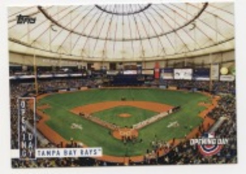 Photo of 2020 Topps Opening Day Opening Day #OD12 Tampa Bay Rays