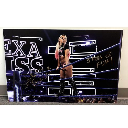 Alexa Bliss SIGNED large photo print