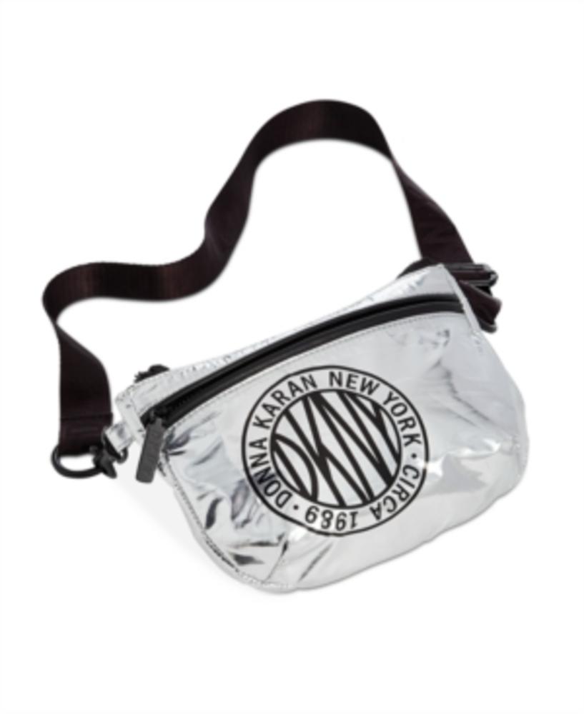 Photo of Dkny Metallic-Foil Logo Belt Bag