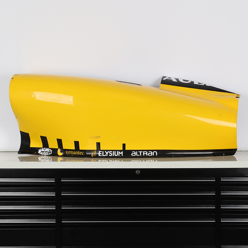 Photo of Renault F1 Team 2010 R30 Right-hand Sidepod