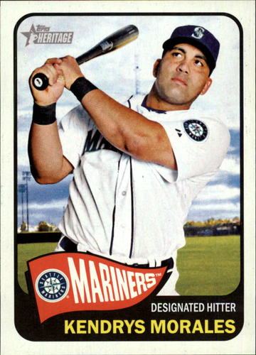 Photo of 2014 Topps Heritage #121 Kendrys Morales
