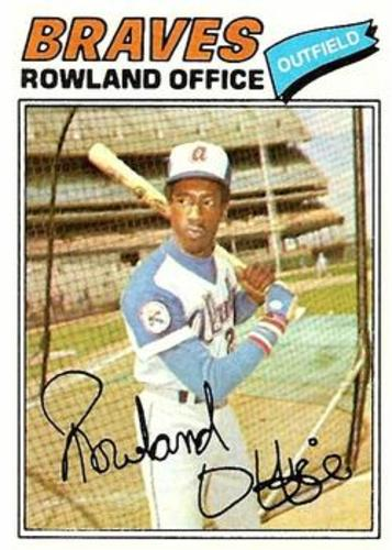 Photo of 1977 Topps #524 Rowland Office