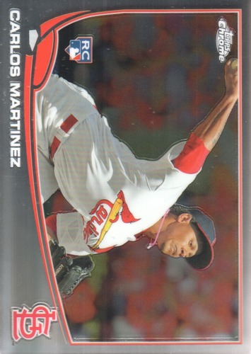 Photo of 2013 Topps Chrome #107 Carlos Martinez Rookie Card