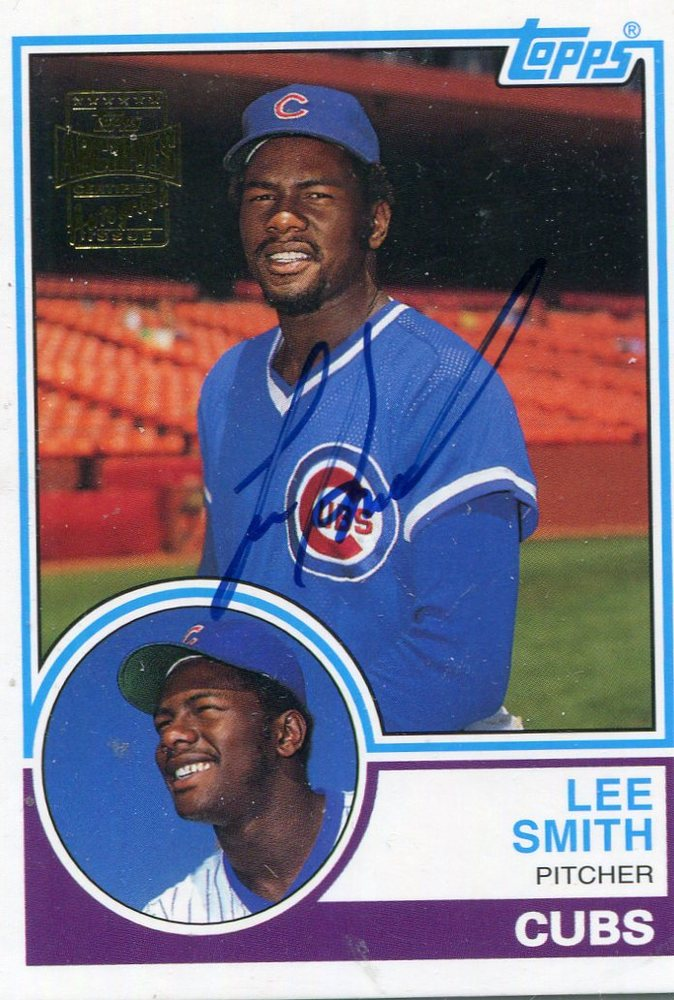 2003 Topps All-Time Fan Favorites Archives Autographs  Lee Smith