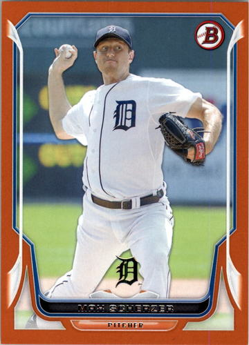 Photo of 2014 Bowman Orange #94 Max Scherzer 112/250