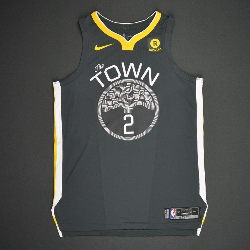 Jordan Bell - Golden State Warriors - Statement Game-Worn Jersey - 2017-18 Season