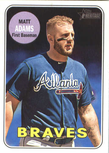 Photo of 2018 Topps Heritage #270 Matt Adams