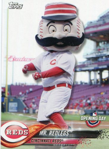 Photo of 2018 Topps Opening Day Mascots #M7 Mr. Redlegs