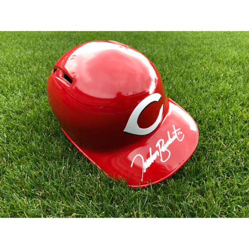 Photo of Tucker Barnhart -- Autographed Helmet